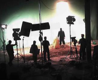 Foley sound studio